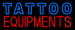 Double Stroke Tattoo Equipment Neon Sign