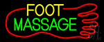 Foot Massage Neon Sign
