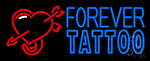 Forever Tattoo Neon Sign