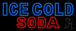 Ice Cold Soda 29 Neon Sign