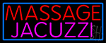 Massage And Jacuzzi Neon Sign