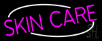 Pink Skin Care Neon Sign