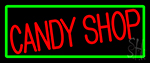Red Candy Shop Neon Sign