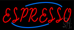 Red Espresso Neon Sign