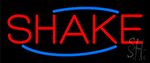 Red Shakes Neon Sign