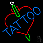 Tattoos Inside Heart Neon Sign