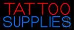 Tattoo Supplies Neon Sign
