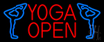 Yoga Open Neon Sign