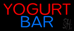 Yogurt Bar Neon Sign