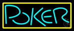Block Poker 1 Neon Sign