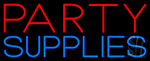 Party Supplies Neon Sign