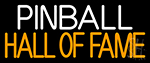 Pinball Hall Of Fame 2 Neon Sign
