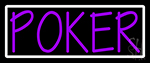 Vertical Poker 2 Neon Sign