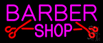Barber Shop With Scissor Neon Sign
