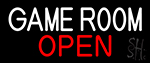 Game Room Open Neon Sign