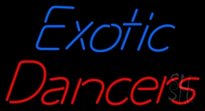 Exotic Dancers Neon Sign