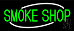 Green Smoke Shop Neon Sign