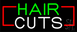 Hair Cut Neon Sign