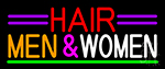 Hair Men And Women Neon Sign