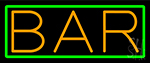 Orange Bar Neon Sign