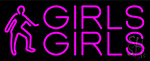 Pink Girls Girls Girls Neon Sign