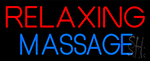 Relaxing Massage Neon Sign