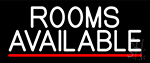 Rooms Available Vacancy Neon Sign