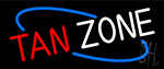 Tan Zone Neon Sign