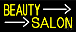 Yellow Beauty Salon Neon Sign