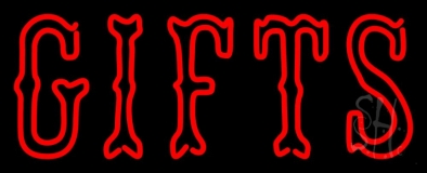 Double Stroke Red Gifts Neon Sign