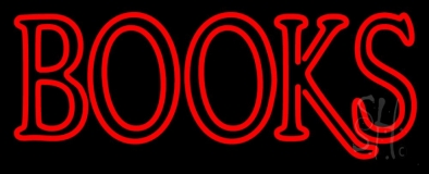 Double Stroke Books Neon Sign