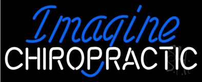 Imagine Chiropractic Neon Sign