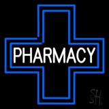 Pharmacy Inside Plus Logo Neon Sign