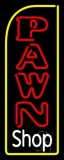 Vertical Pawn Shop Neon Sign