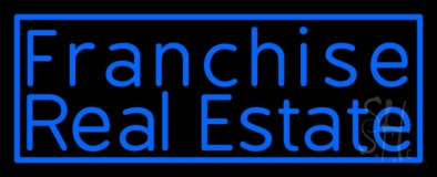 Franchise Real Estate Neon Sign