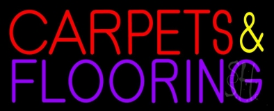 Carpets And Flooring Neon Sign
