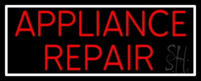 Appliance Repair 1 Neon Sign