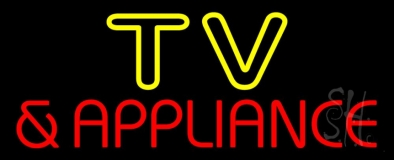 Tv And Appliance 2 Neon Sign