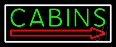 Cabin 2 Neon Sign