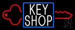 Key Shop 1 Neon Sign