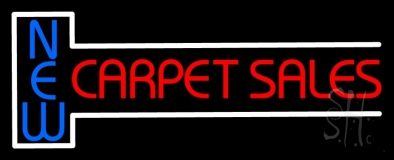 New Carpet Sale 2 Neon Sign