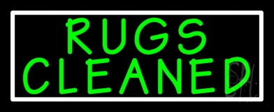 Rugs Cleaned 1 Neon Sign