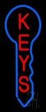 Vertical Keys Logo 1 Neon Sign
