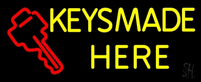 Keys Made Here 1 Neon Sign