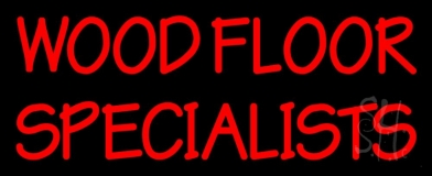 Wood Floor Specialist 1 Neon Sign