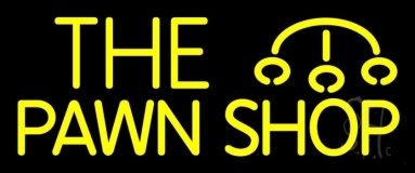 The Pawn Shop Neon Sign