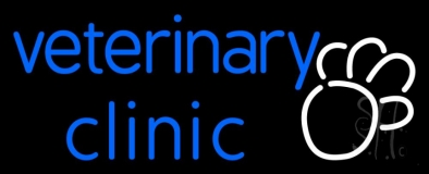 Veterinary Clinic Neon Sign