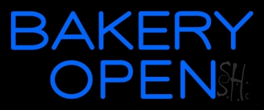 Bakery Open 3 Neon Sign