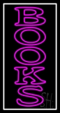 Double Stroke Vertical Books 1 Neon Sign