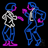 Dancing Couple Neon Sign